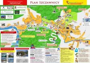 Plan Szczawnicy