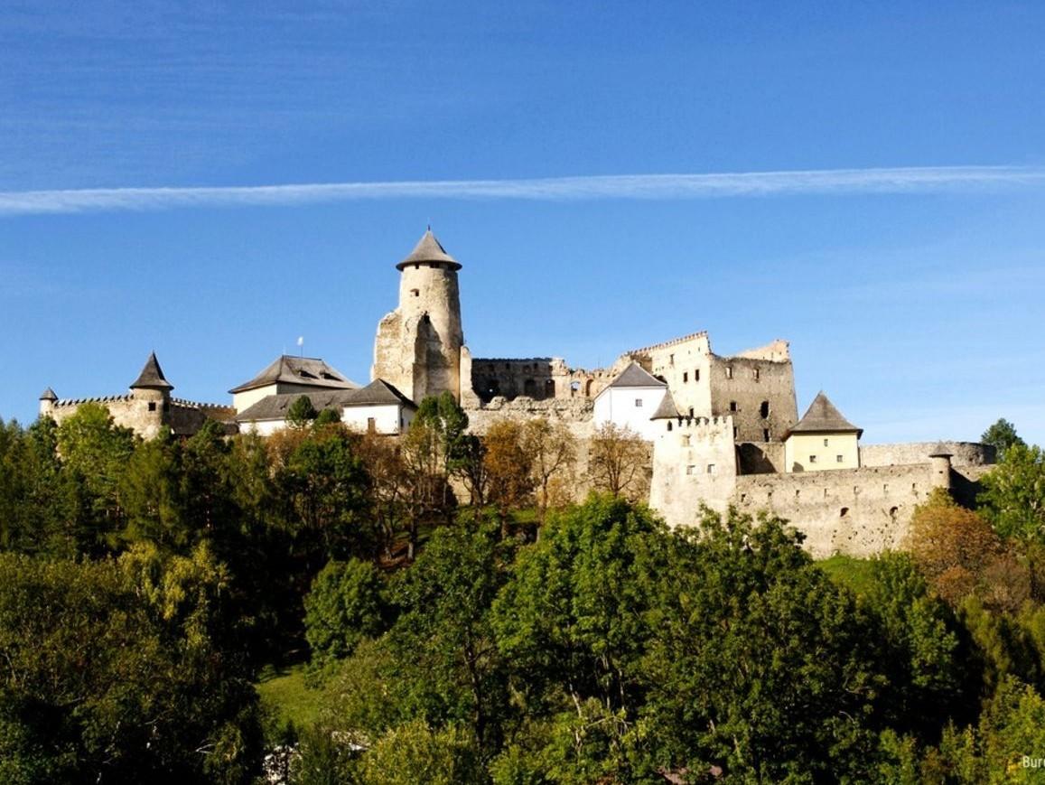 Zamek w Starej Lubowli na Słowacji