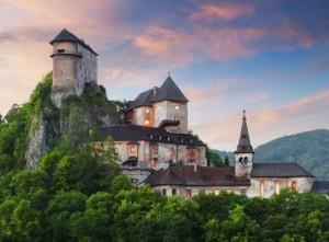Zamek Orawski w Orawskim Podzamczu na Słowacji