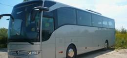 srebtny autokar mercedes tourismo