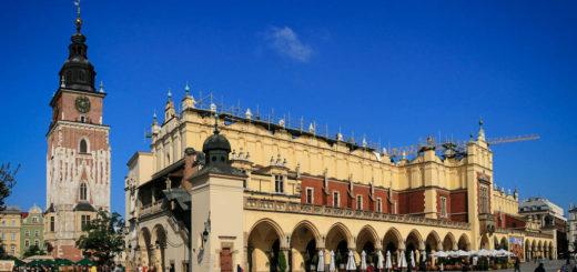 Sukiennice w Krakowie na Rynku Głównym