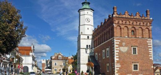 Ratusz na rynku w Sandomierzu