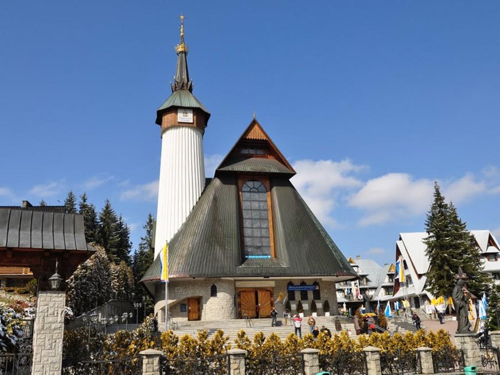 Sanktuarium na Krzeptówkach w Zakopanym