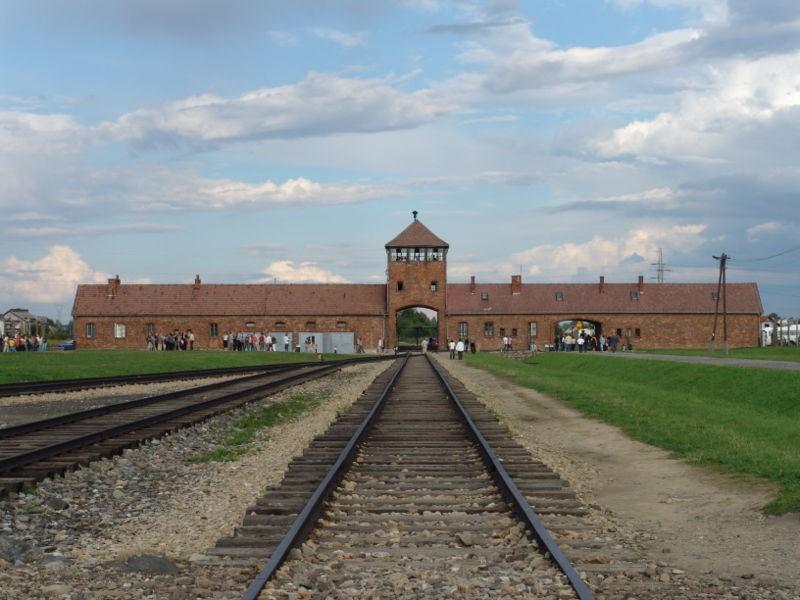 Obóz Auschwitz Birkenau w Oświęcimiu
