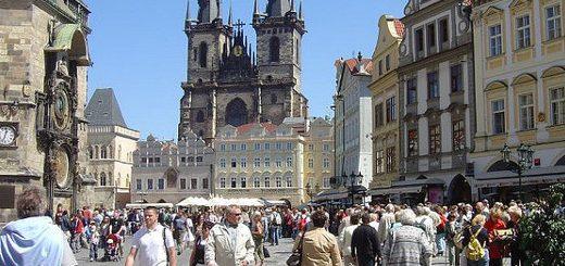 Zabytkowa dzielnica Pragi Stare Miasto