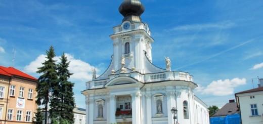 Kościół na rynku w Wadowicach