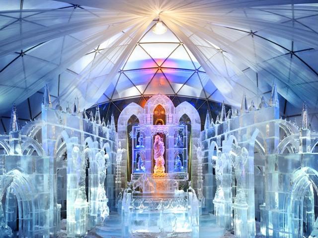Świątynia Lodowa na Słowacji