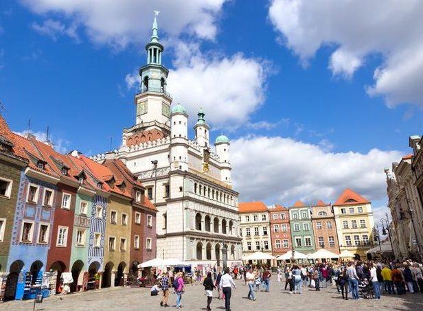 Ratusz na Starym Rynku w Poznaniu