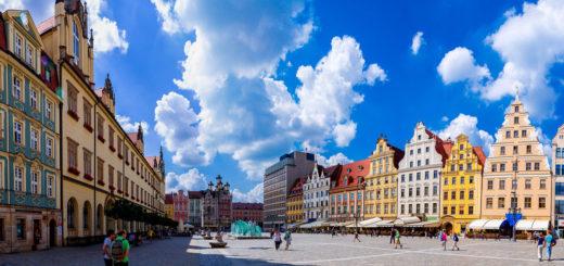 Wrocław rynek główny