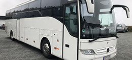 silver coach mercedes tourismo